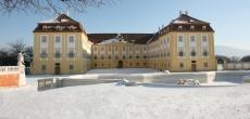 Zima v letnom zámku Schloss Hof