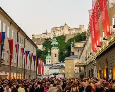 Salzburg plný hudby
