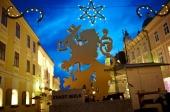 Skvost UNESCO v  žiari svetiel