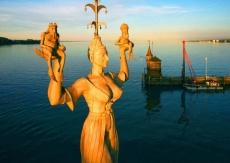 Krása jazera Bodensee a UNESCO