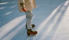 Kam v zime na korčule...