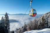 Zima v regióne Villach
