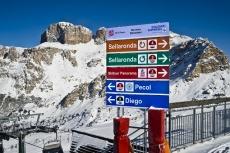 Val di Fassa: raj v Dolomitoch